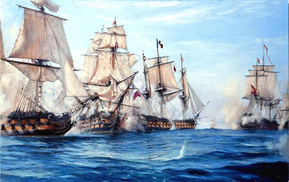 The Battle at Trafalgar- For centuries, British imperialism and dominance on the high seas enabled many British families to establish themselves worldwide.